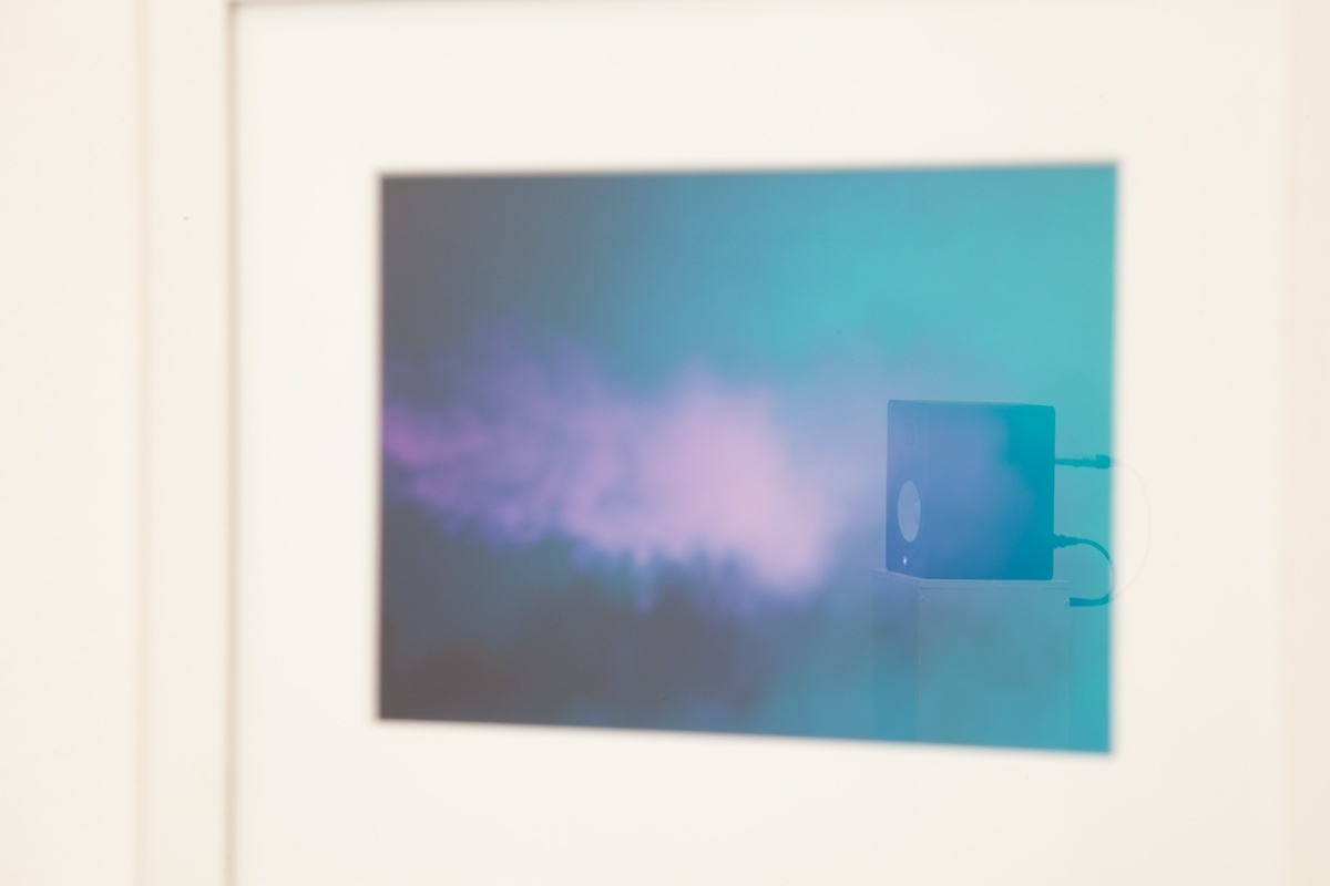 Armin Lorenz Gerold – Fogs, 2011, 4–channel sound (4'52''), photograph