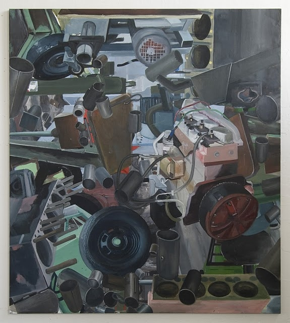 Radim Langer – untitled, 2010-2011, oil on canvas, 230 x 210 cm