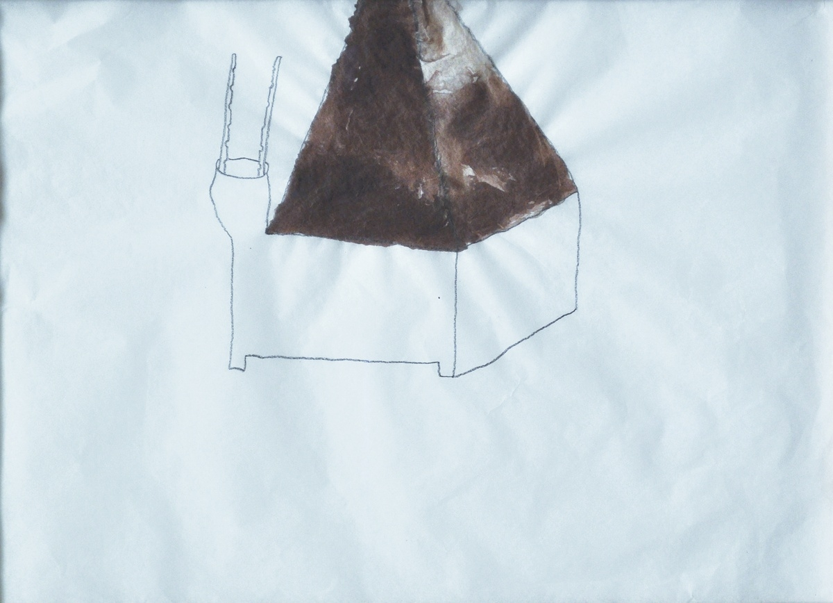 Sarah Rutschman – Untitled, 2010, ink on silk paper, 25 x 35 cm
