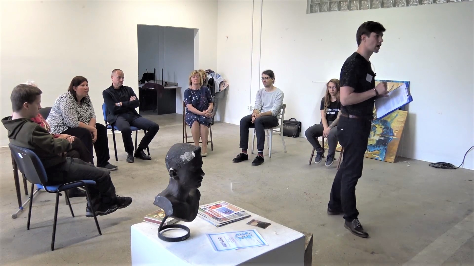 David Bartoš – A Guide,  performance, video, 2018